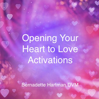 Cover Opening Your Heart to Love Activations DrBernadetteHartman