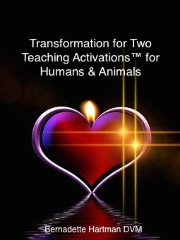 Cover Transformation for Two Teaching Activations™ for Humans & Animals DrBernadetteHartman
